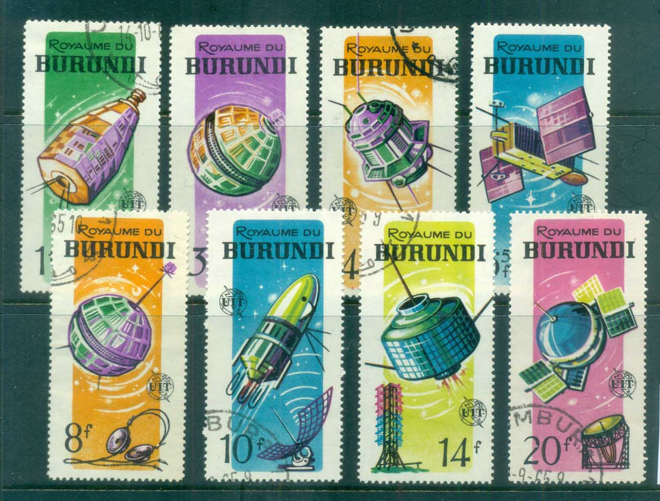 Burundi 1965 ITU Cent., Space Satellites CTO