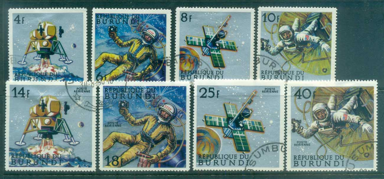 Burundi 1968 Peaceful Space Exploration CTO