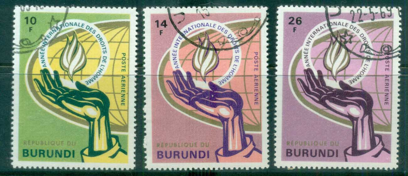 Burundi 1969 Intl. Human Rights CTO