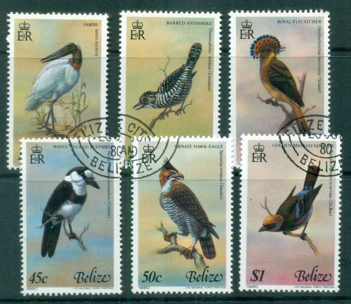 Belize 1980 Birds of Belize CTO