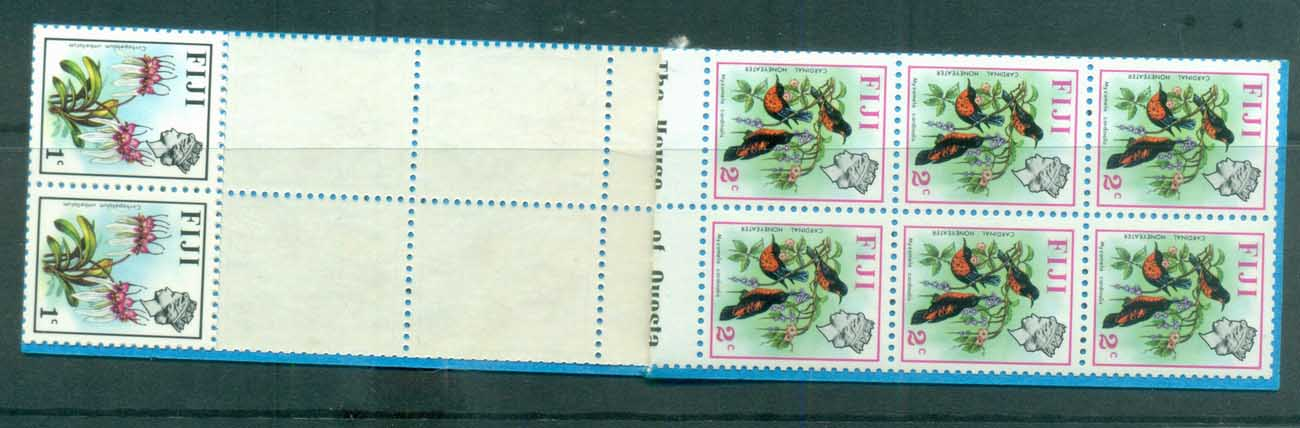 Fiji 1971 Pictorials, Birds, booklet MUH