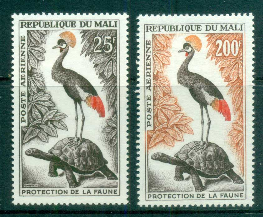 Mali 1963 Animal Protection, Birds MLH