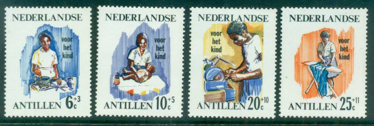 Netherlands Antilles 1966 Child Welfare Nurse MUH