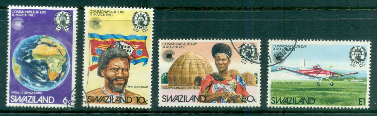 Swaziland 1983 Commonwealth Day FU