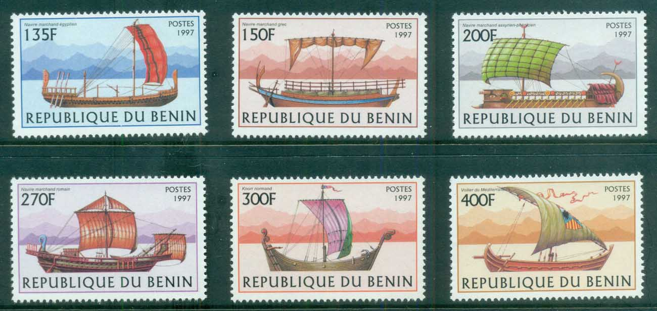 Benin 1997 Old Sailing Vessels MUH