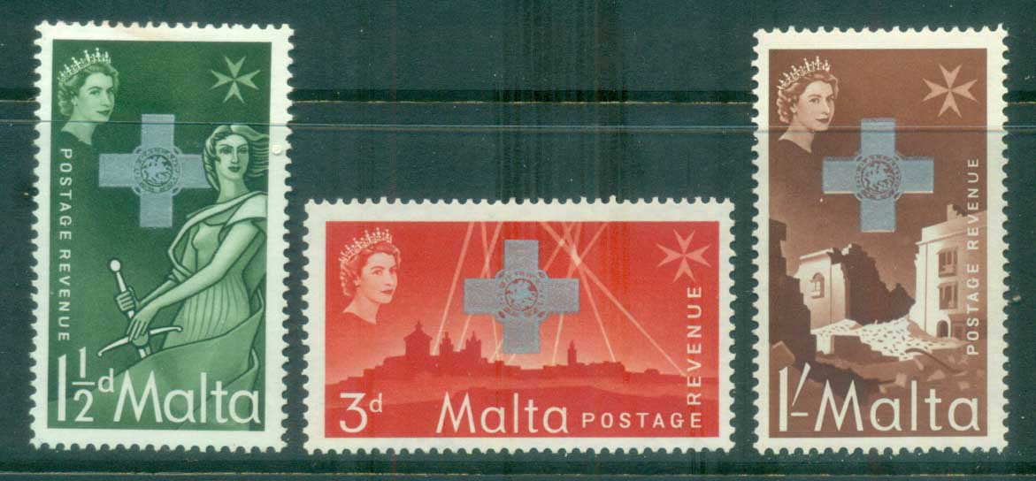 Malta 1957 George Cross MLH