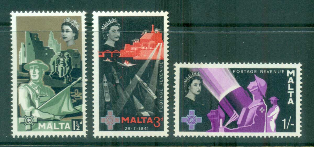 Malta 1958 George Cross MLH