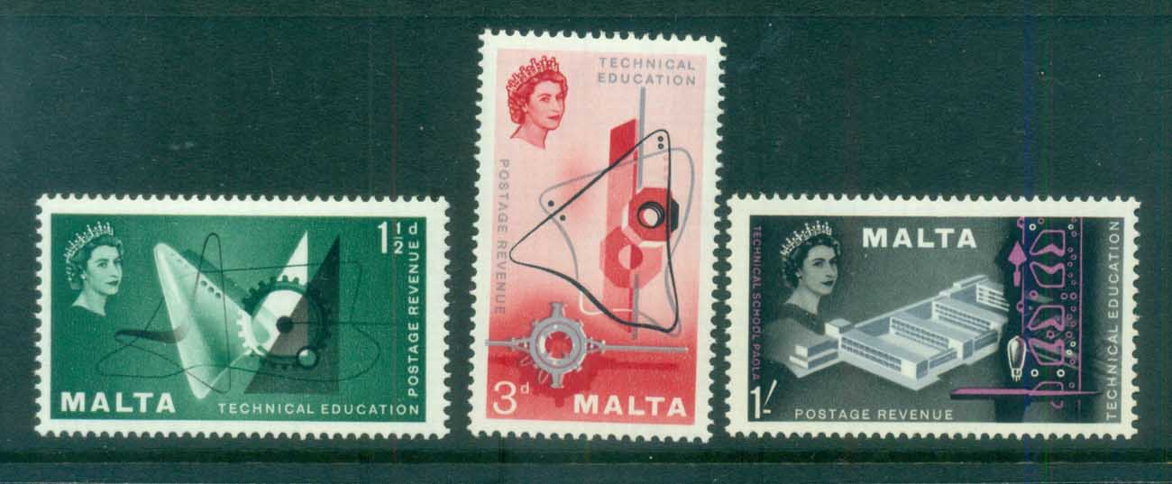 Malta 1958 Technical Education MLH