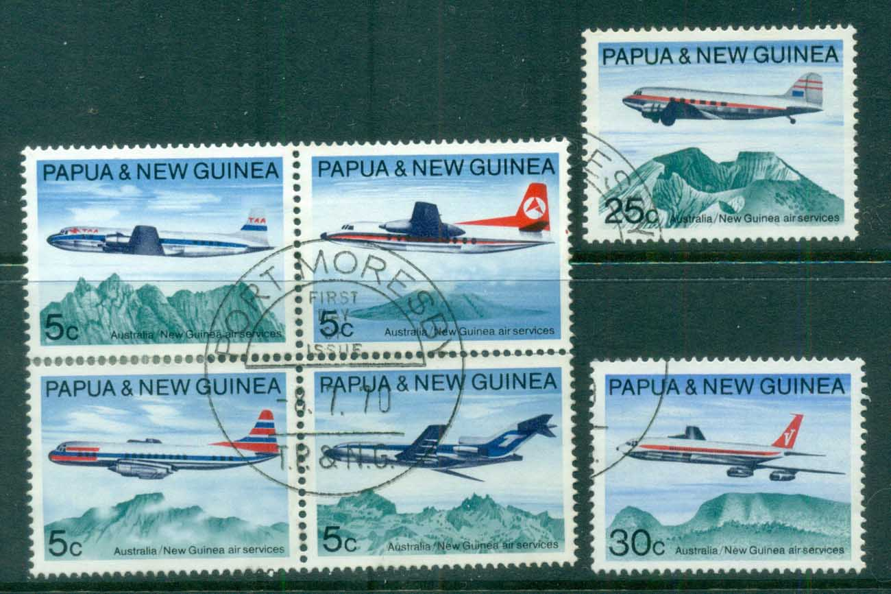 PNG 1970 Development of Air Services FU