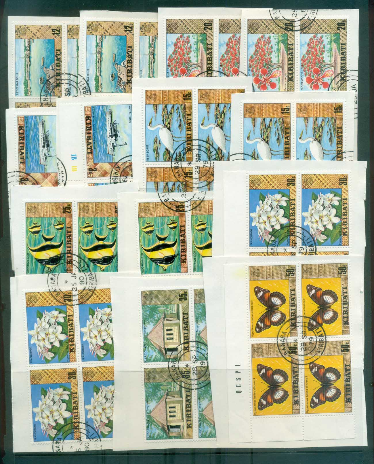 World Assorted Oddments, Kiribati 5 scans