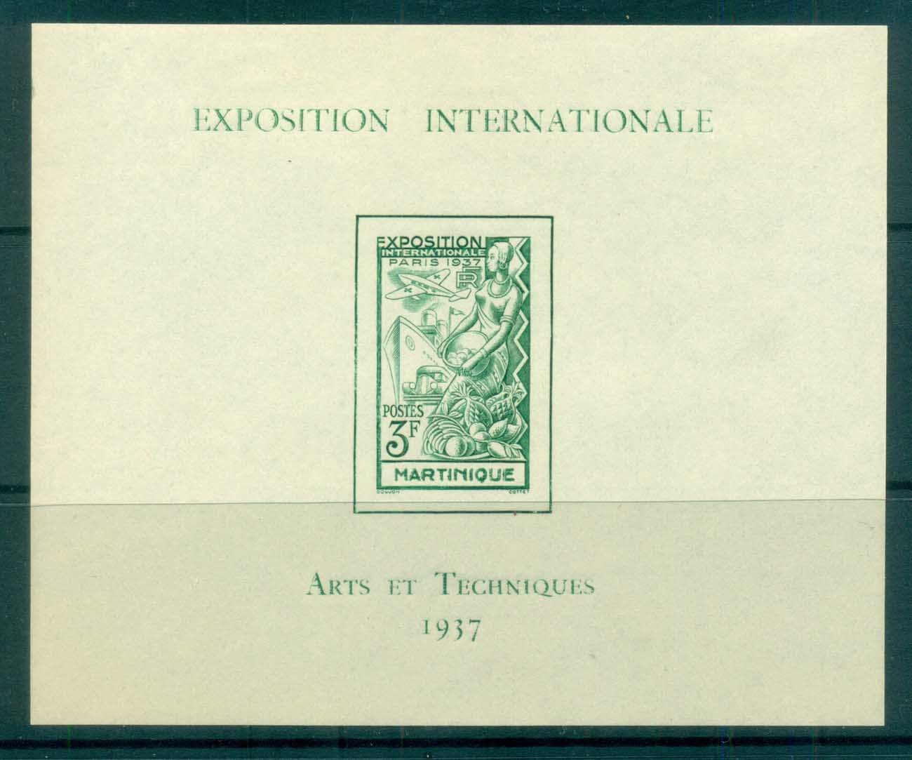 Martinique 1937 Colonial Arts Expo MS MLH