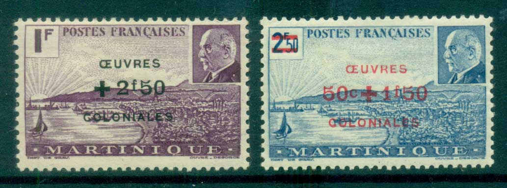 Martinique 1944 Colonial Development Fund MLH