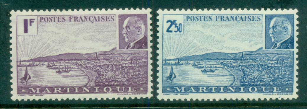 Martinique 1941 Petain MLH