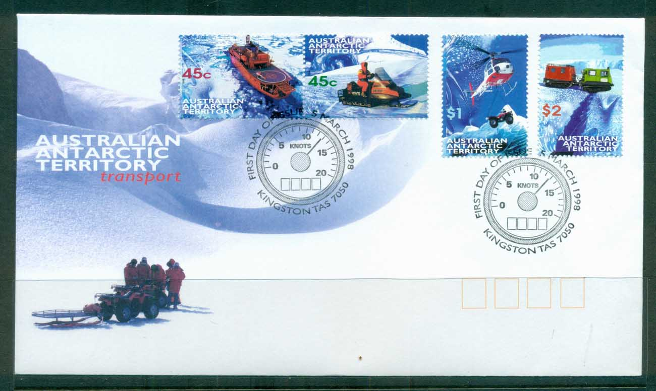 AAT 1998 Transport FDC