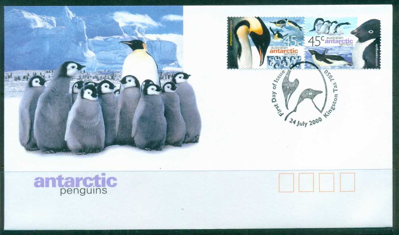 AAT 2000 Antarctic Penguins FDC