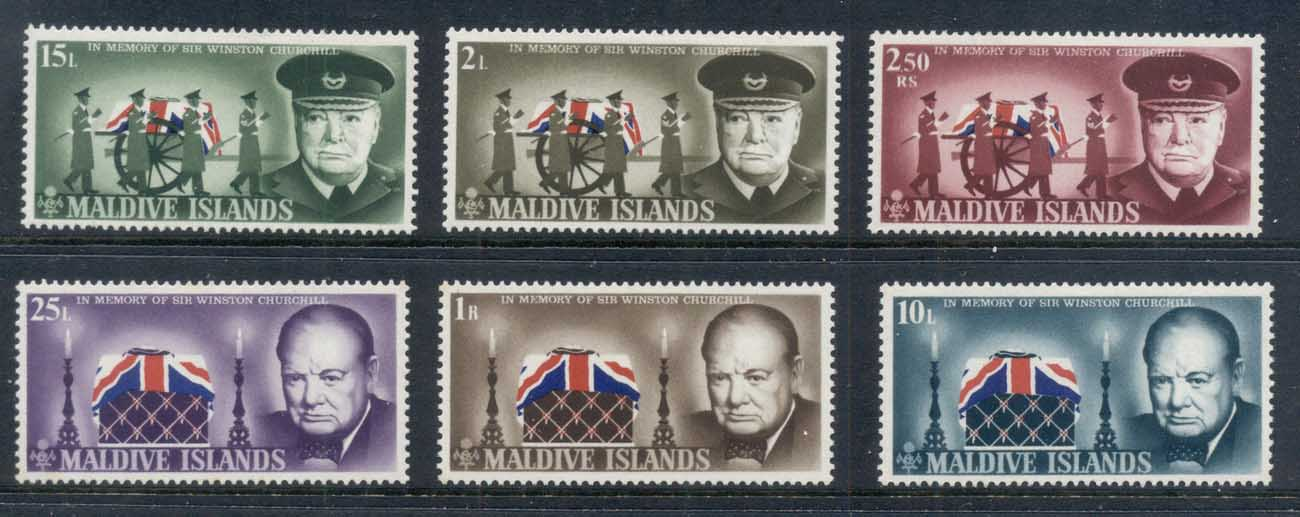 Maldive Is 1967 Winston Churchill MLH