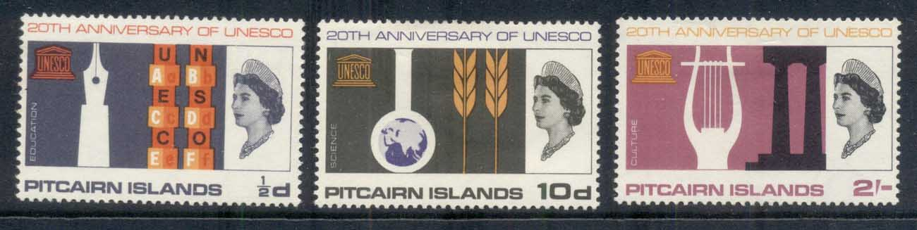 Pitcairn Is 1966 UNESCO MLH