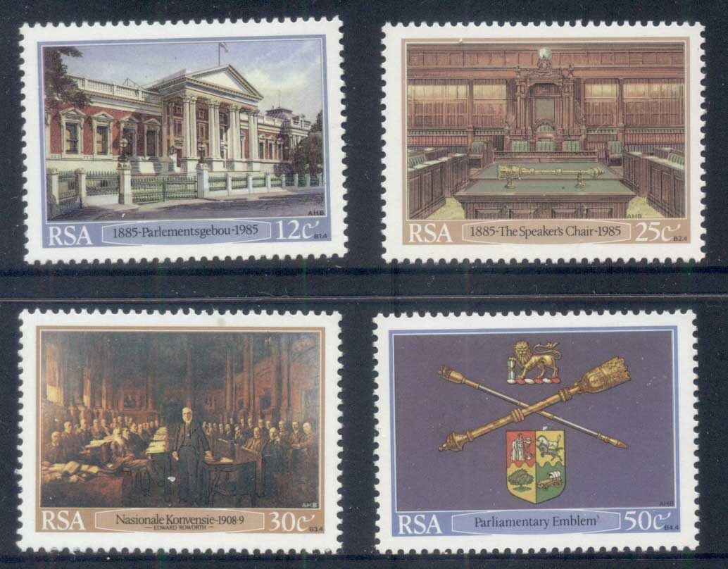 South Africa 1985 Cape Parliament Centenary MUH