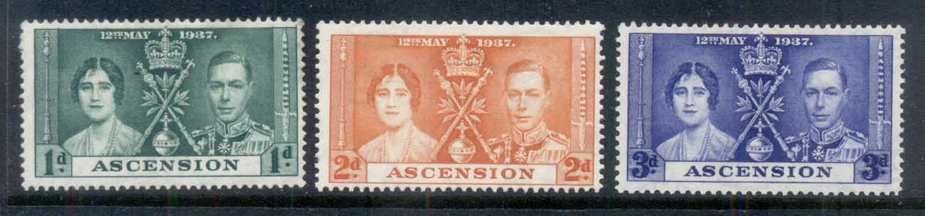 Ascension Is 1937 Coronation MLH