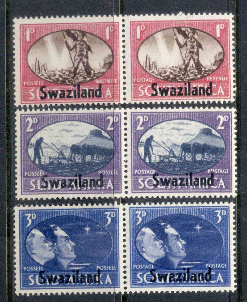 Swaziland 1945 Victory MLH