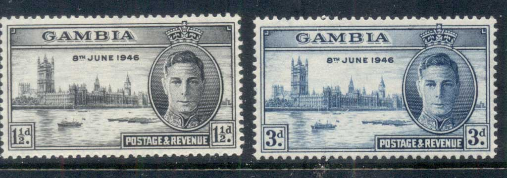 Gambia 1946 Victory MLH