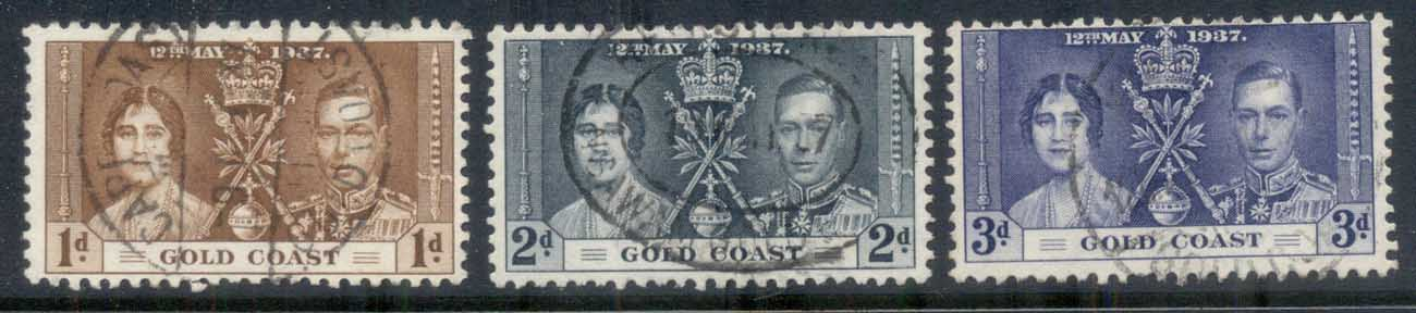 Gold Coast 1937 Coronation FU