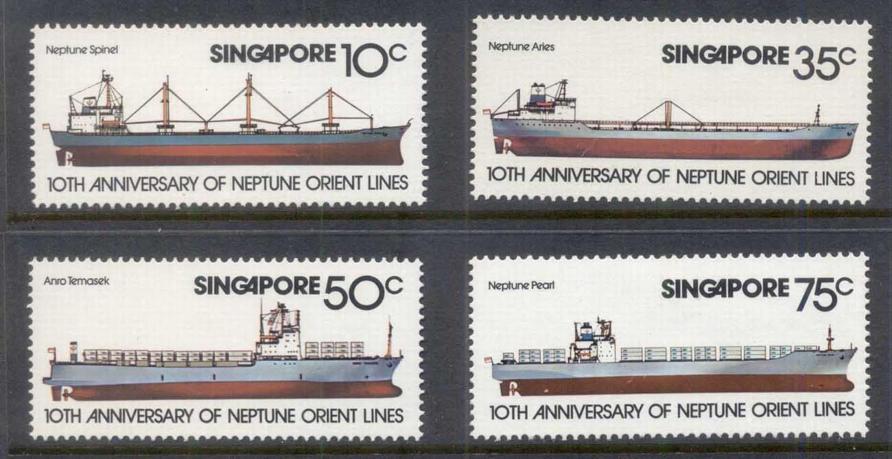 Singapore 1978 Neptune Oriental Shipping Line MLH