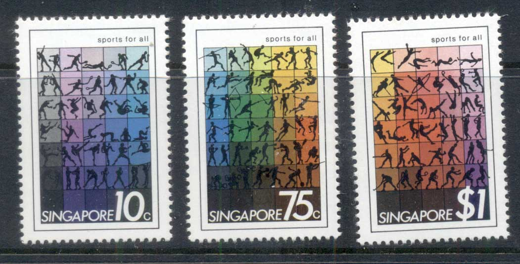 Singapore 1981 Sports for All MLH