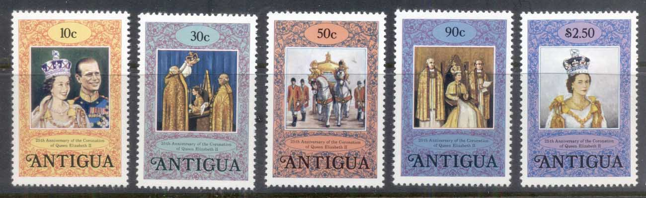 Antigua 1978 QEII Coronation 25th Anniversary MUH