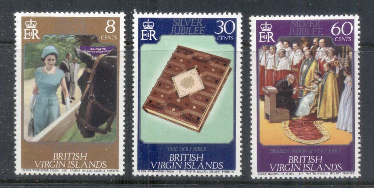 Virgin Is 1977 QEII Silver Jubilee MUH