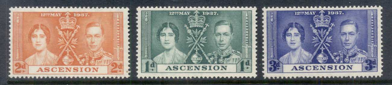 Ascension Is 1937 Coronation MUH