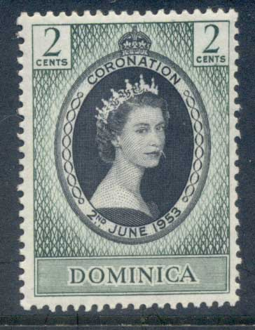 Dominica 1953 Coronation MLH