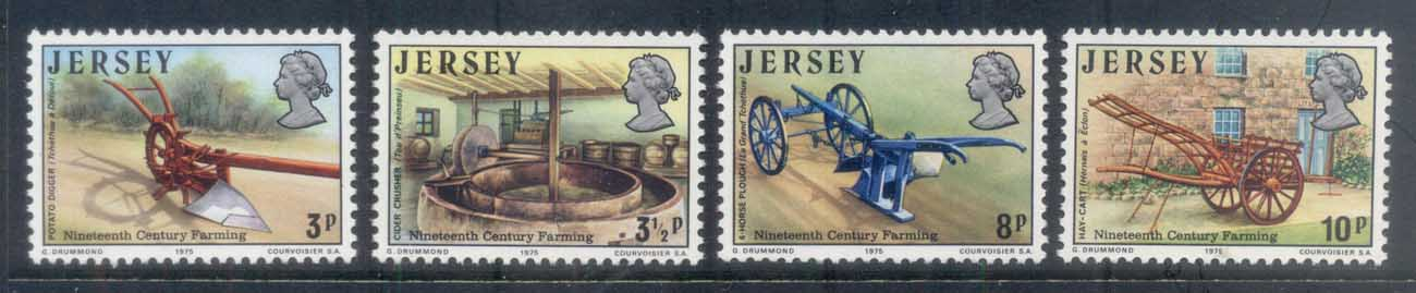 Jersey 1975 19th Century Farm Tools MUH