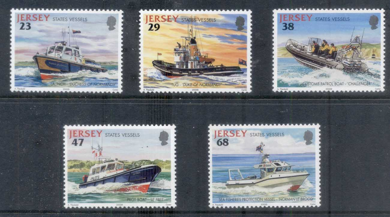 Jersey 2002 Jersey State Vessels, Ships MUH