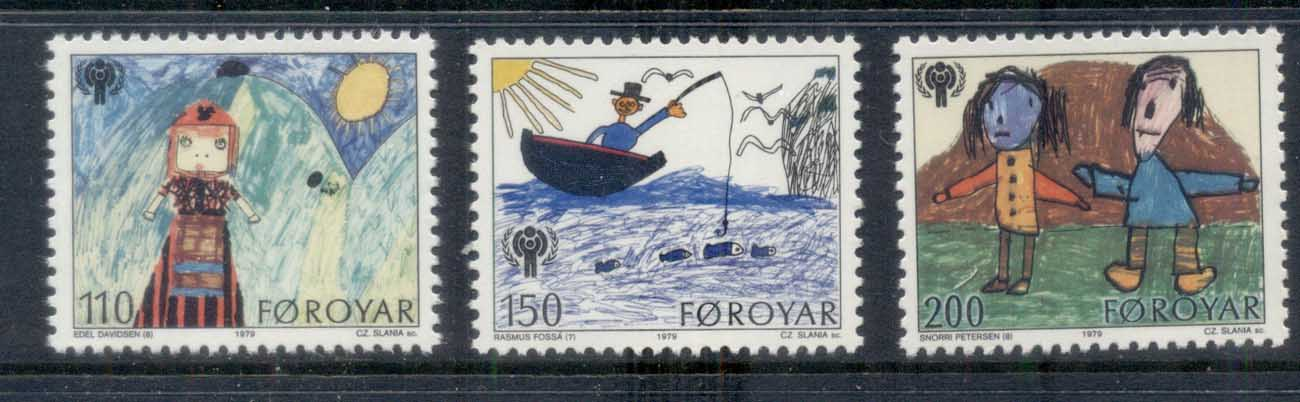 Faroe Is 1979 IYC Intl. year of the Child MUH