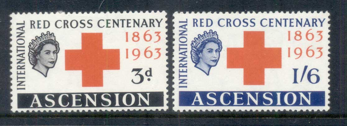 Ascension Is 1963 Red Cross Cent. MUH