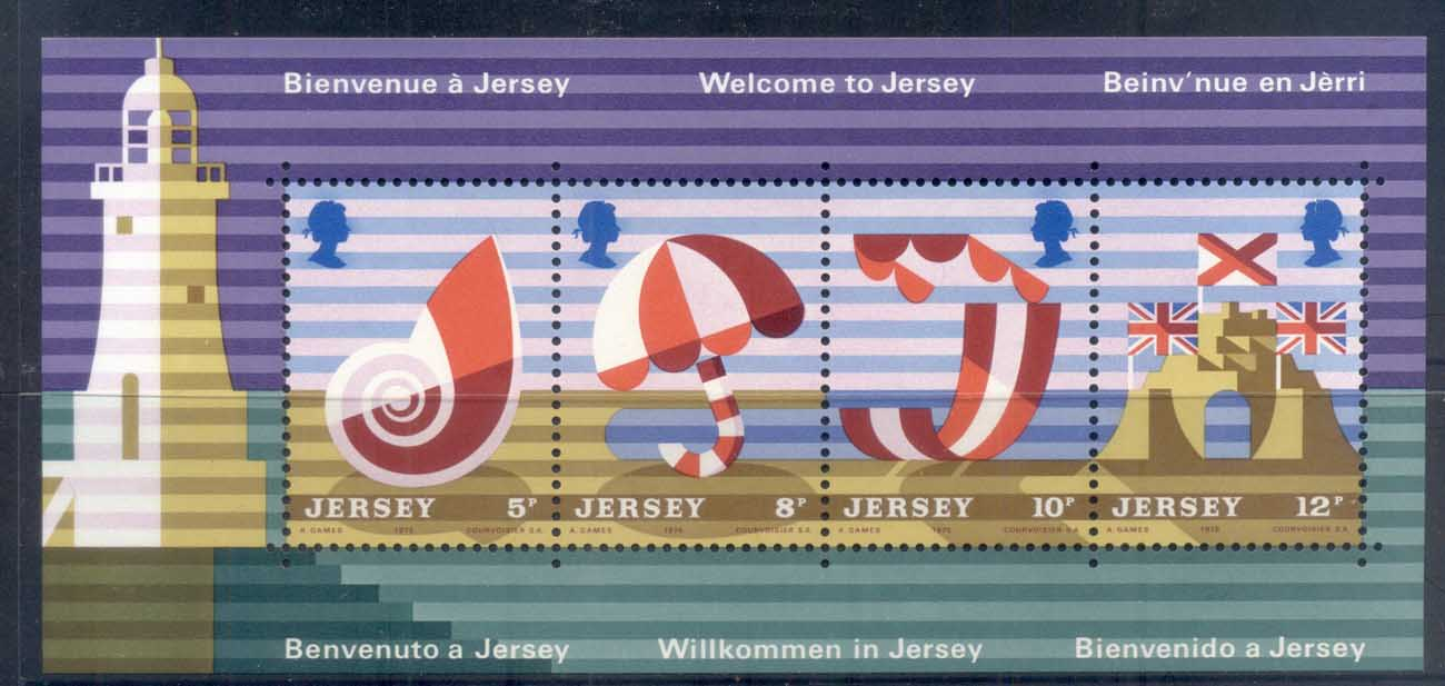 Jersey 1975 Tourist Publicity, Posters MS MUH