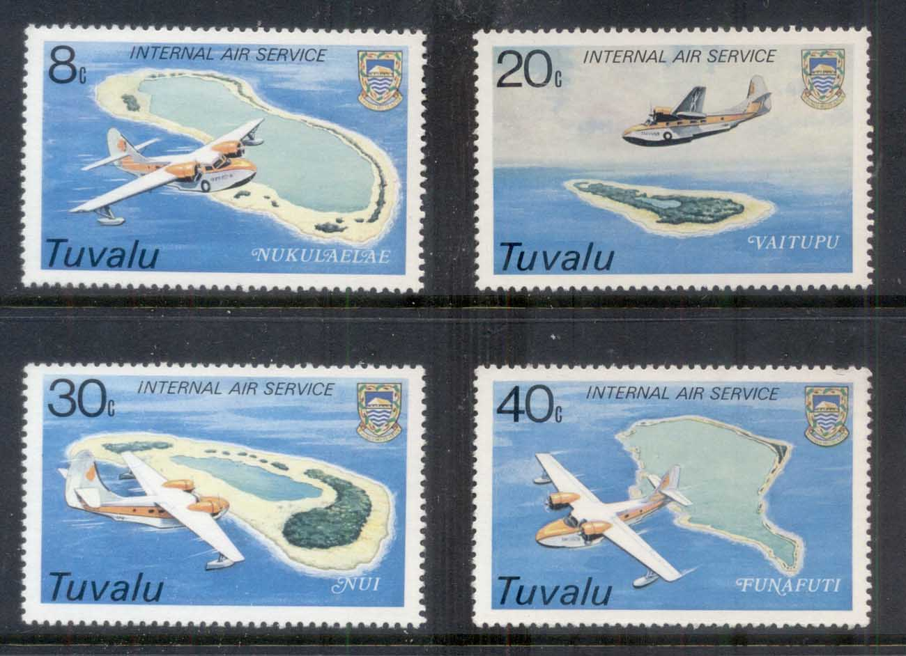 Tuvalu 1979 Inauguration of Internal Air Service MUH