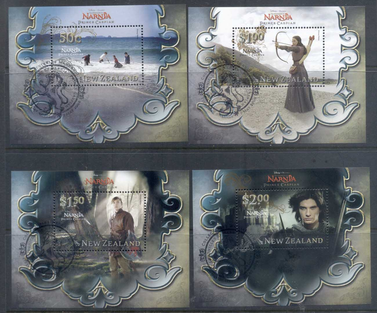 New Zealand 2008 Narnia, Prince Caspian MS CTO/FDI