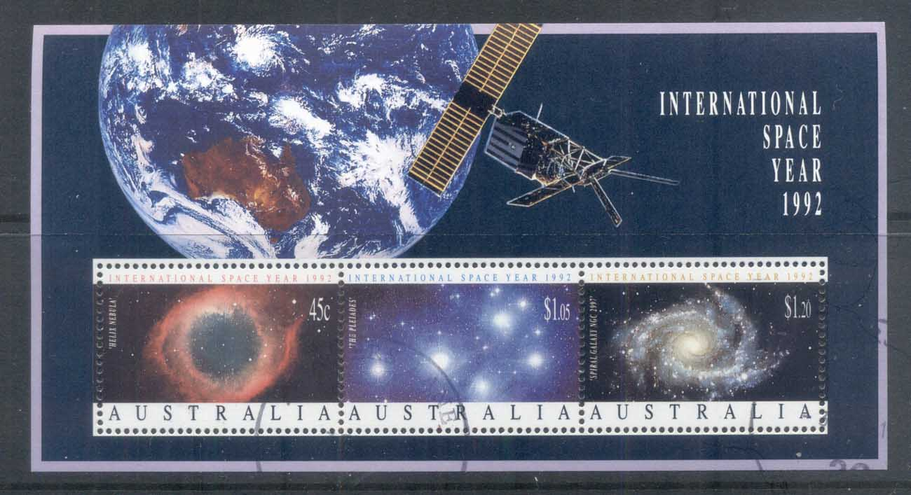 Australia 1992 International Space Year MS FU