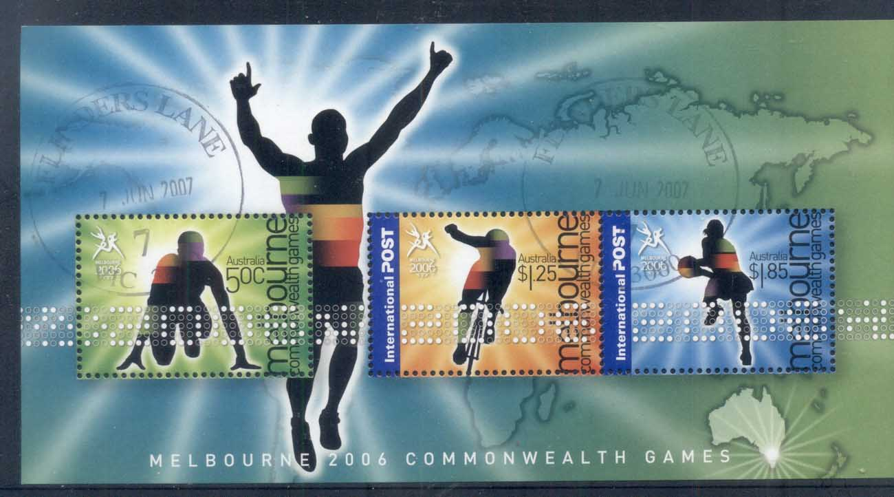 Australia 2006 Commonwealth Games, Melbourne FU