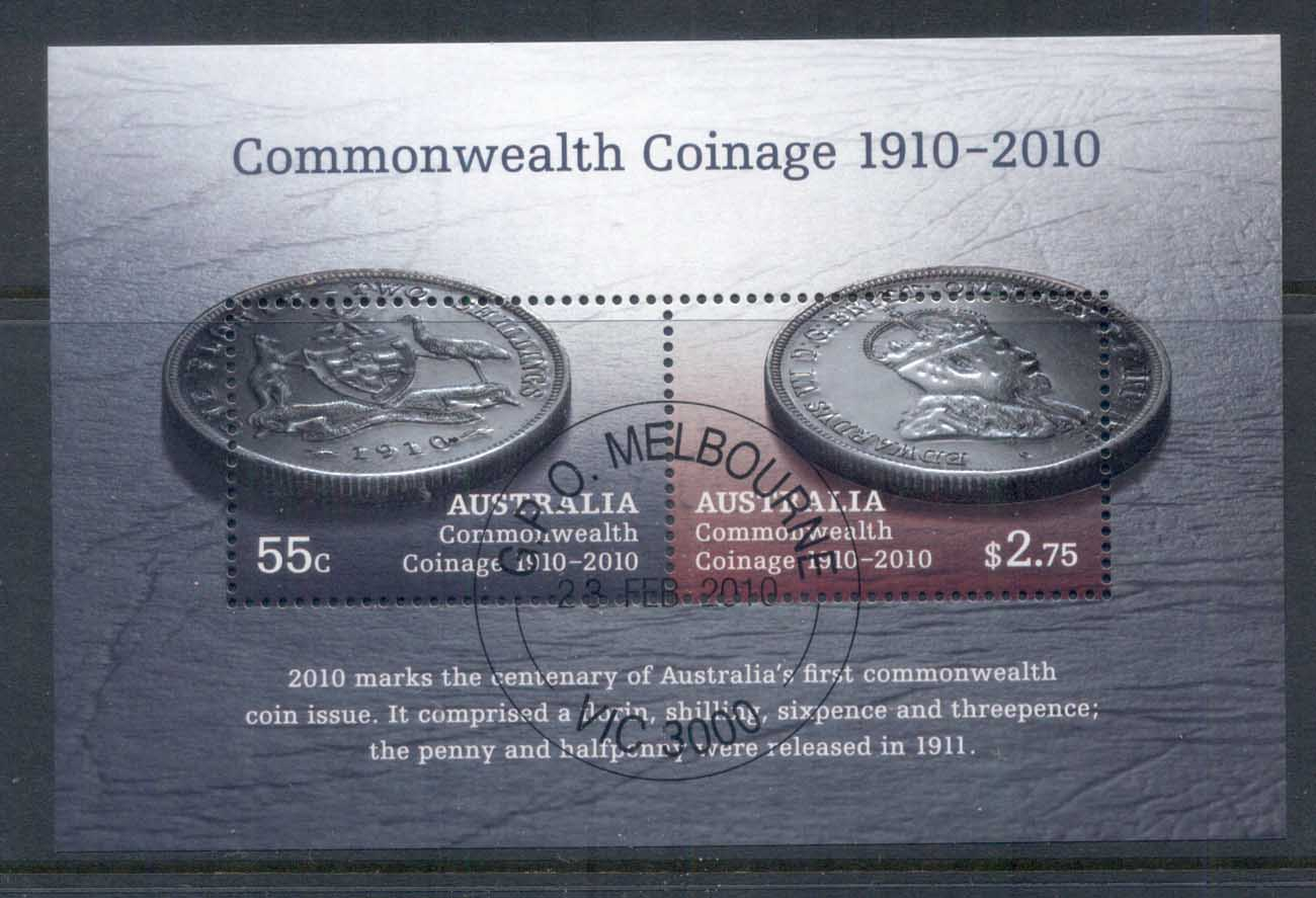 Australia 2010 Australian Commonwealth Coinage Cent. MS CTO