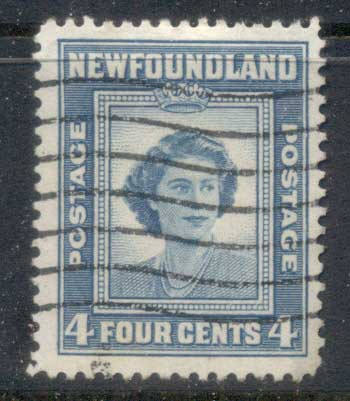 Newfoundland 1947 Princess Elizabeth 21st Birthday FU