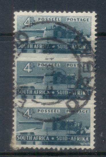 South Africa 1942-43 Pictorials, Artillery 4d FU