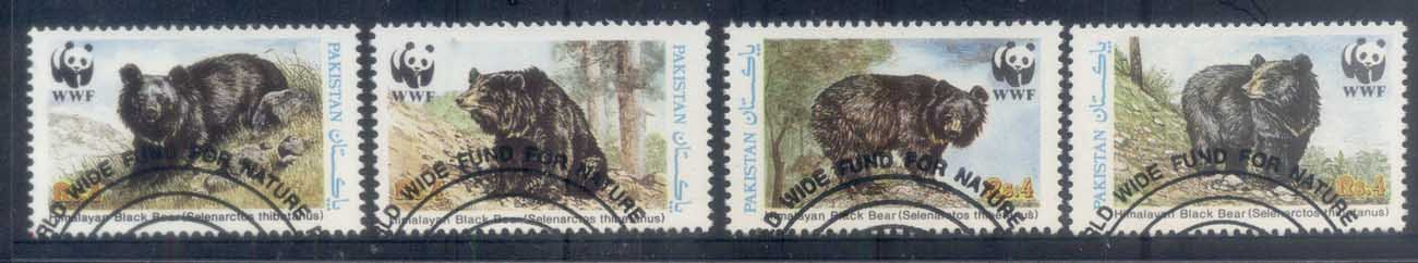 Pakistan 1989 WWF Black bear FU