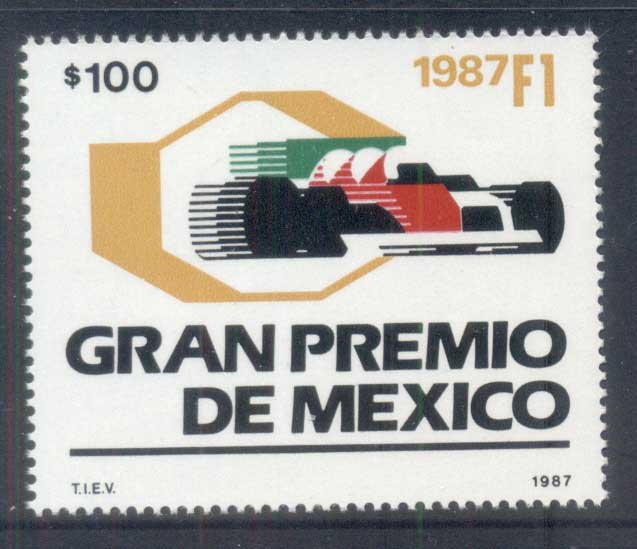 Mexico 1987 Formula 1 Grand Prix MUH