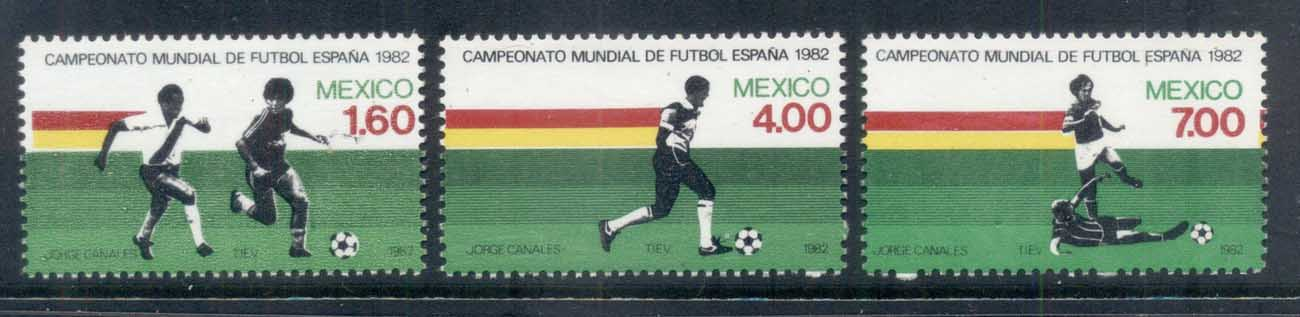 Mexico 1982 World Cup Soccer MUH