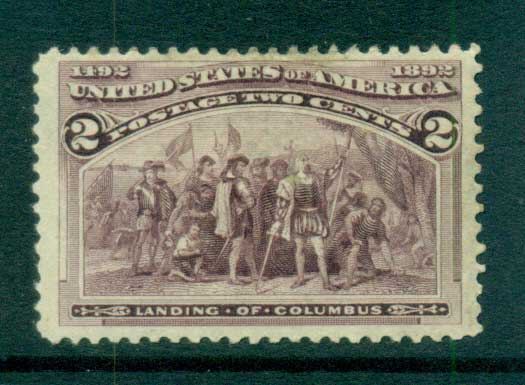 USA 1893 Sc#231 2c Columbian Exposition MH lot67177