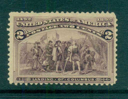 USA 1893 Sc#231 2c Columbian Exposition MH lot67178
