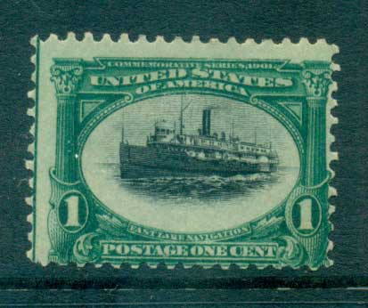 USA 1901 Sc#294 1c Pan-American Exposition FU lot67217